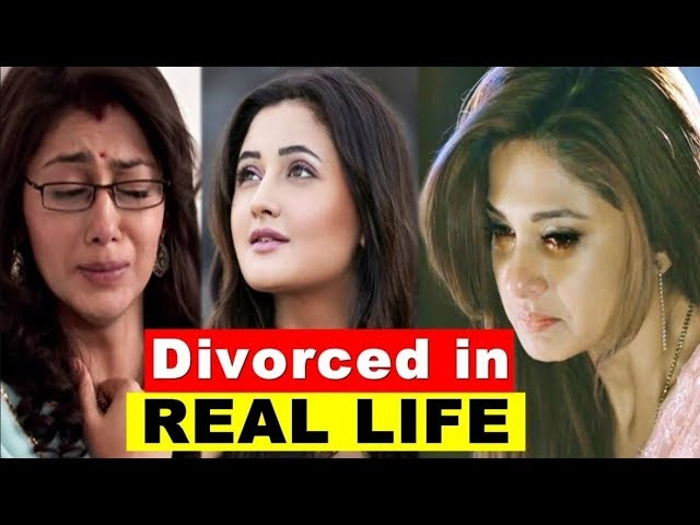 Top 12 Indian TV Actress Who Are Divorced In REAL LIFE   Indian Stars Divorced You Won't Believe