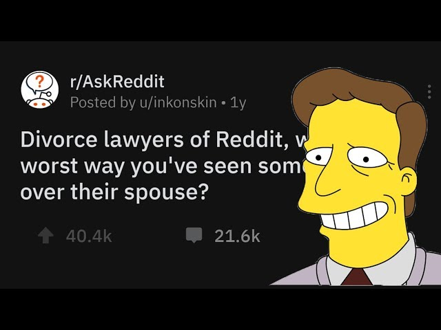 Divorce Lawyers Share The Worst Ways Someone's Gotten Back At A Spouse