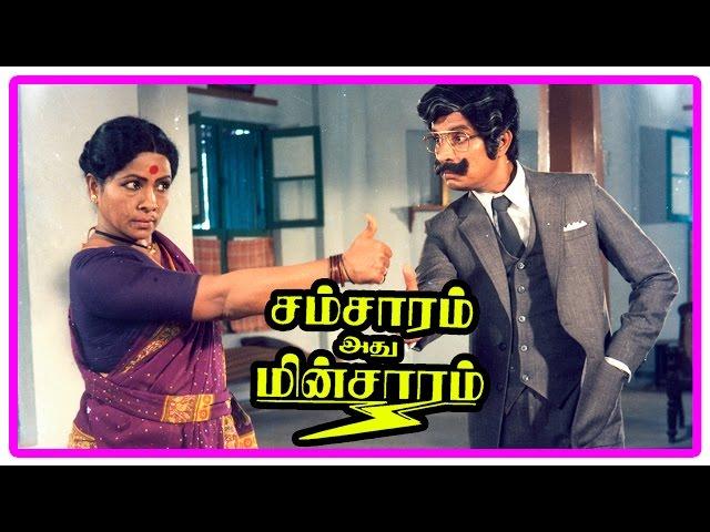 Samsaram Adhu Minsaram Scenes   Kishmu Wants Ilavarasi To Divorce Dilip   Kishmu Manorama Comedy
