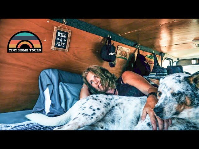 After Divorce She Downsized Into A $5k Budget Conversion Van – Finding Freedom At 52