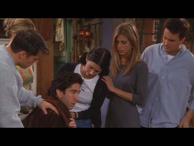 Friends – Ross And Emily 'the Marriage Is Over, Divorce'