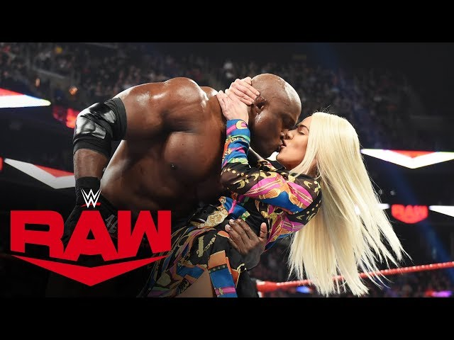 Lana Kisses Bobby Lashley After Revealing Her Divorce: Raw, Nov. 18, 2019