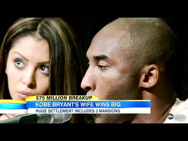 Kobe Bryant Downsizes With Divorce