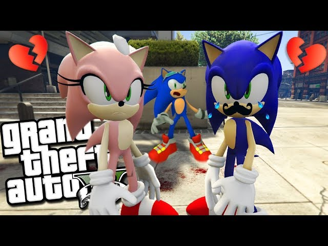 Sonic's MOM And DAD Get A DIVORCE MOD (GTA 5 PC Mods Gameplay)