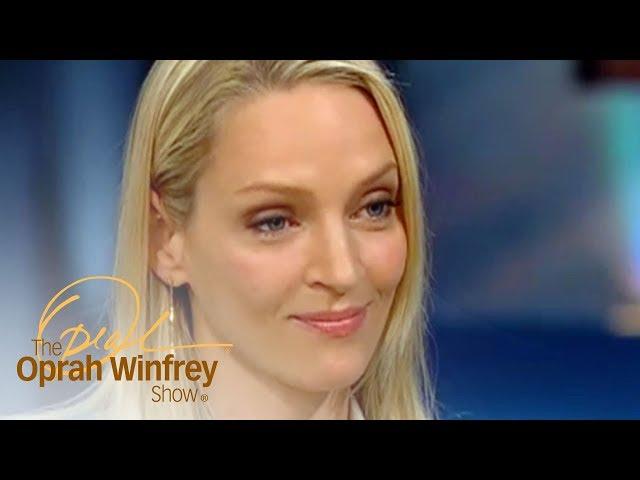Uma Thurman's Raw, Relatable Post-Divorce Interview | The Oprah Winfrey Show | Oprah Winfrey Network