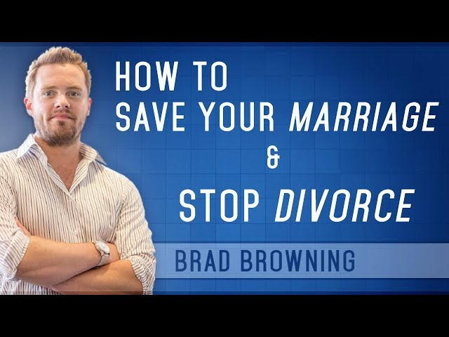 How To Save Your Marriage And Stop Divorce (Complete Guide)